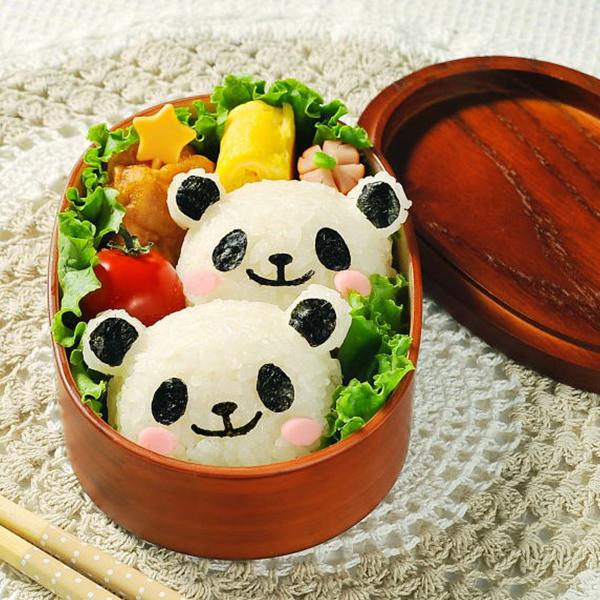 日本品牌【Arnest】熊貓造型飯糰模