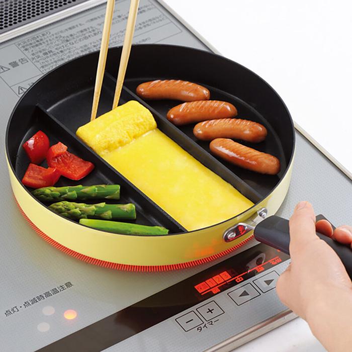 日本品牌【Arnest】三分割煎鍋