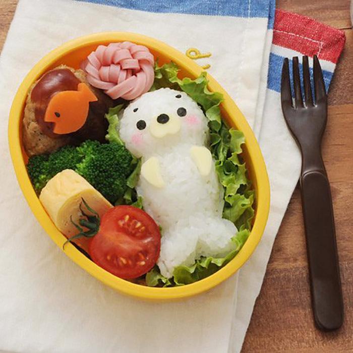 日本品牌【Arnest】海獅造型飯糰模