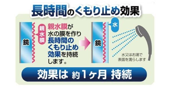 日本品牌【ARNEST】鏡子防霧防水漬清潔劑