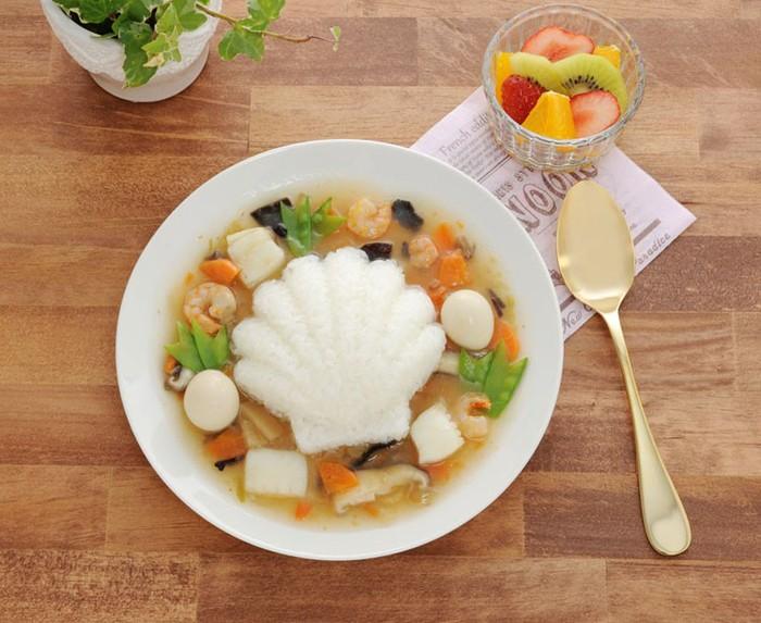 日本品牌【Arnest】海洋造型飯模3入