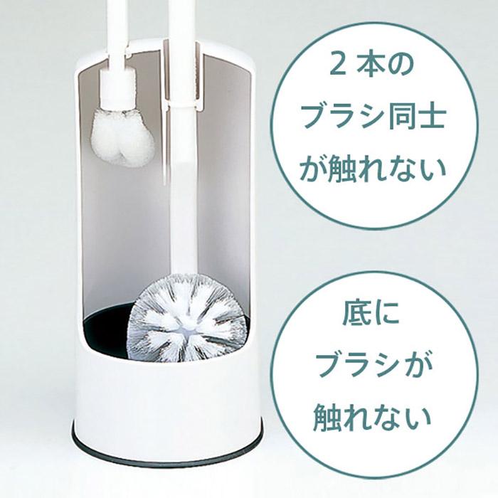 日本品牌【MARNA】二合一馬桶刷