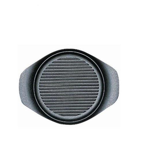 柳宗理-南部鐵器-橫紋淺鍋(附蓋叉)-日本大師級商品