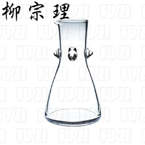 柳宗理-玻璃水瓶 / 凸角 (1000ml) -日本大師級商品
