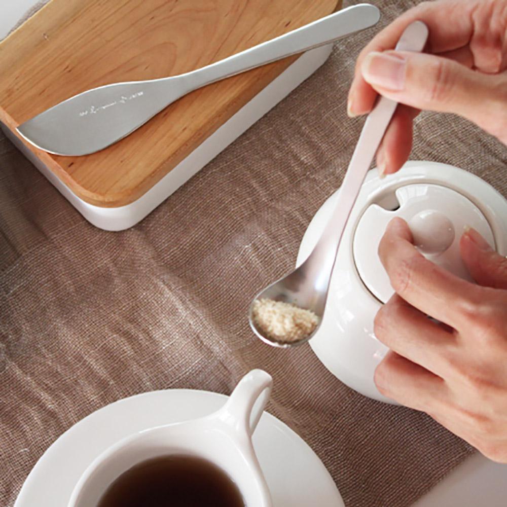 柳宗理-糖匙/奶油刀 禮盒(2入)-日本大師級商品