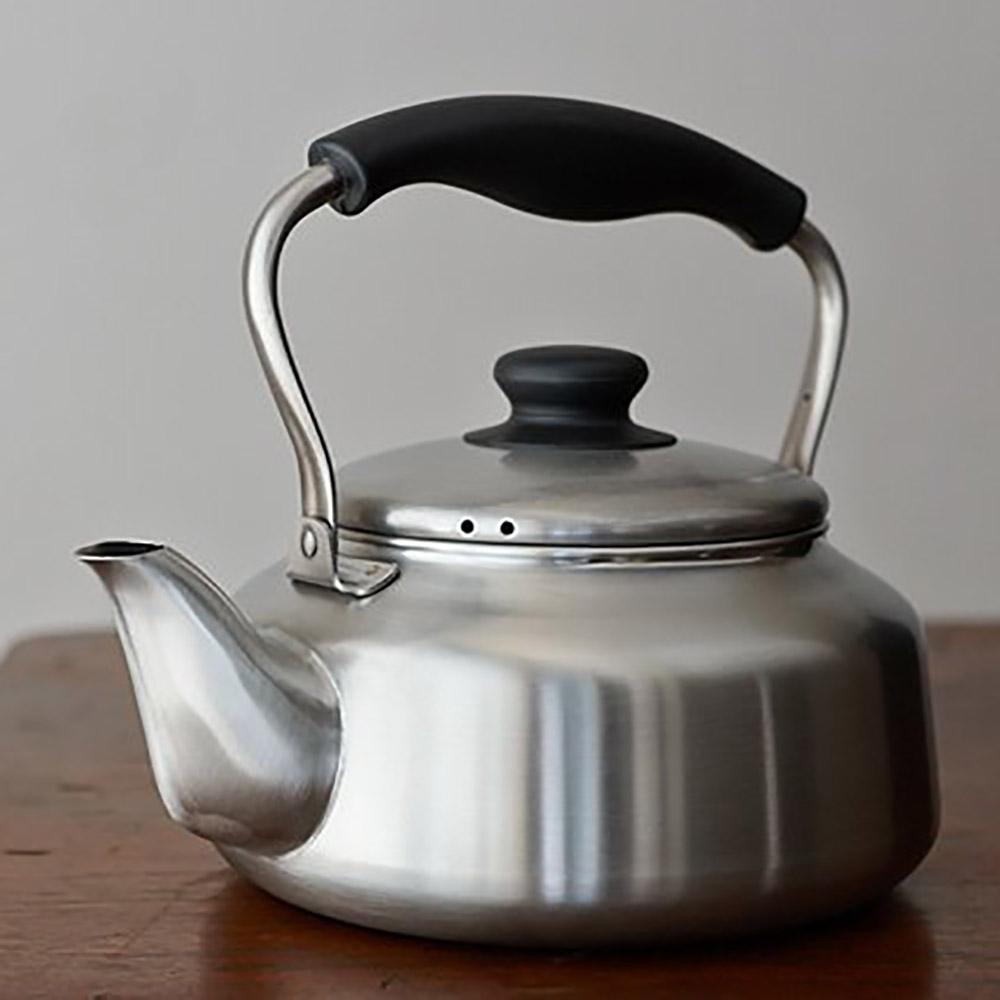 柳宗理-鏽鋼 kettle 霧面水壺-日本大師級商品