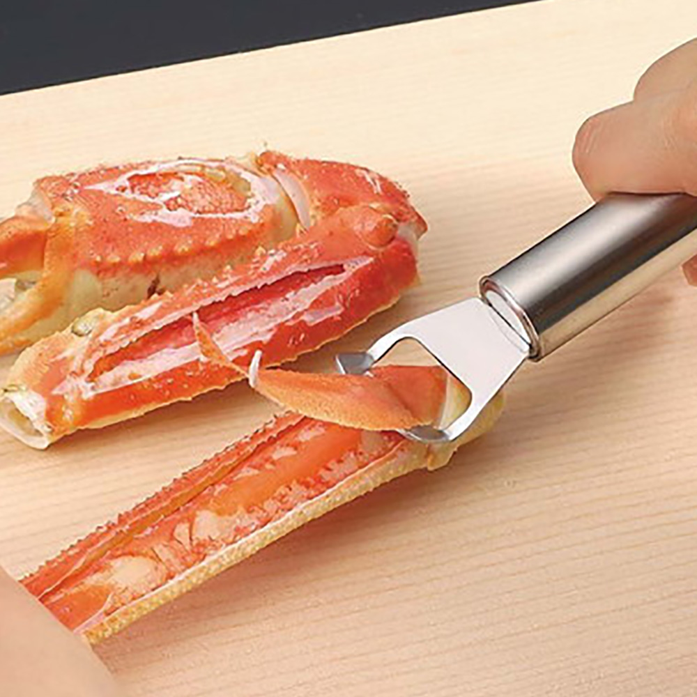 Arnest | 不銹鋼剝螃蟹鉗夾神器