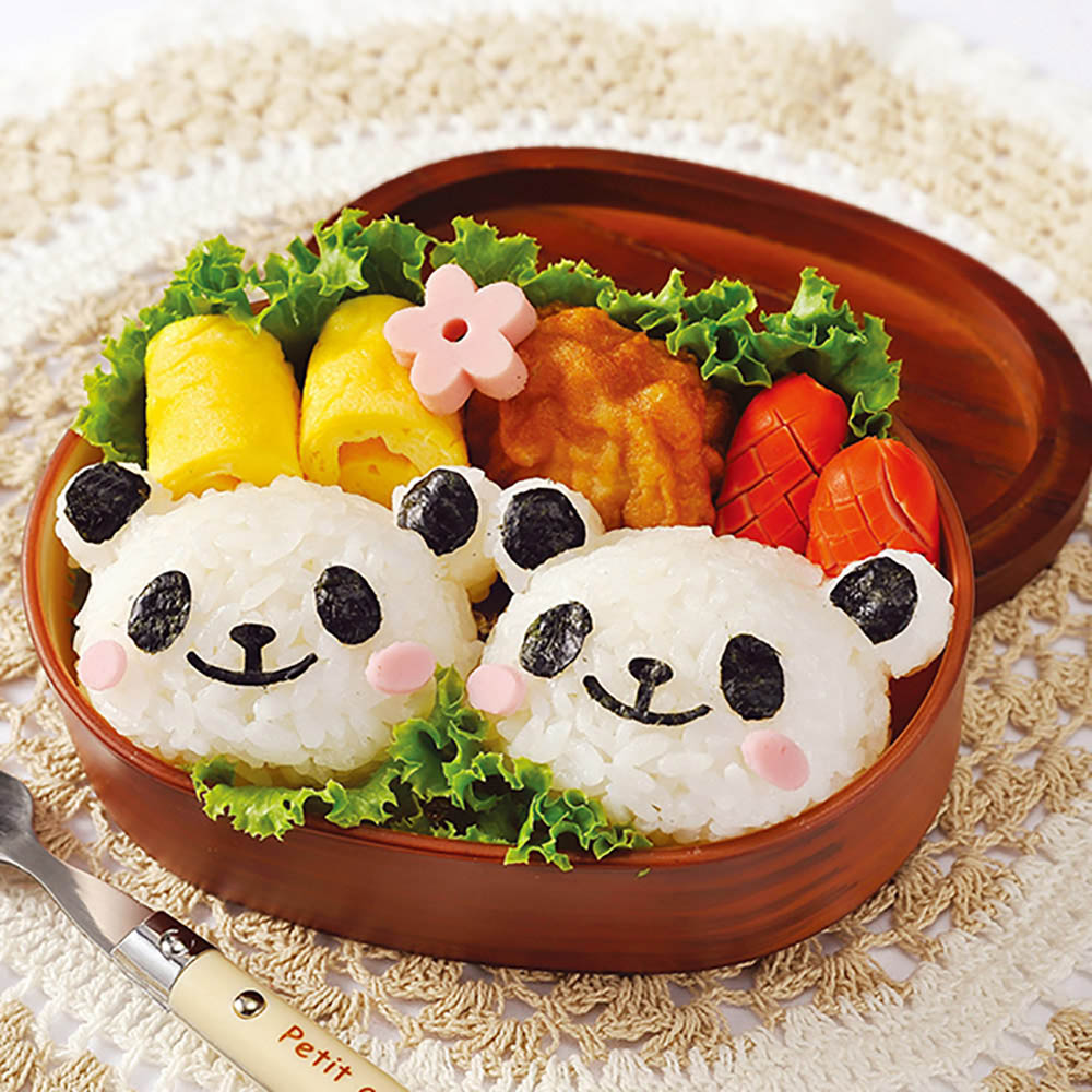 Arnest | 熊貓造型飯糰模