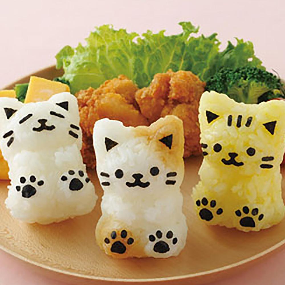 Arnest | 3D小貓造型飯糰模