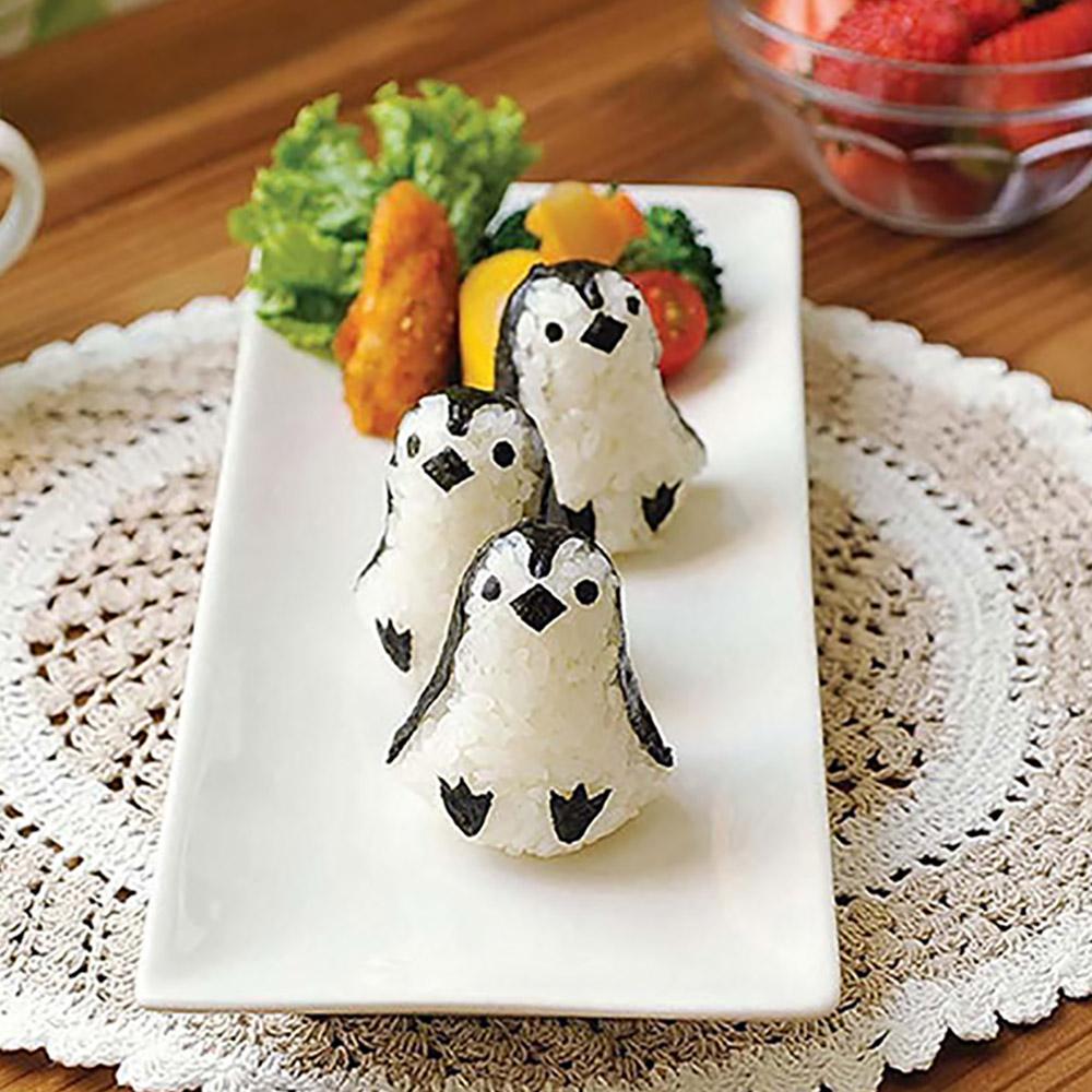 Arnest   企鵝造型飯糰模