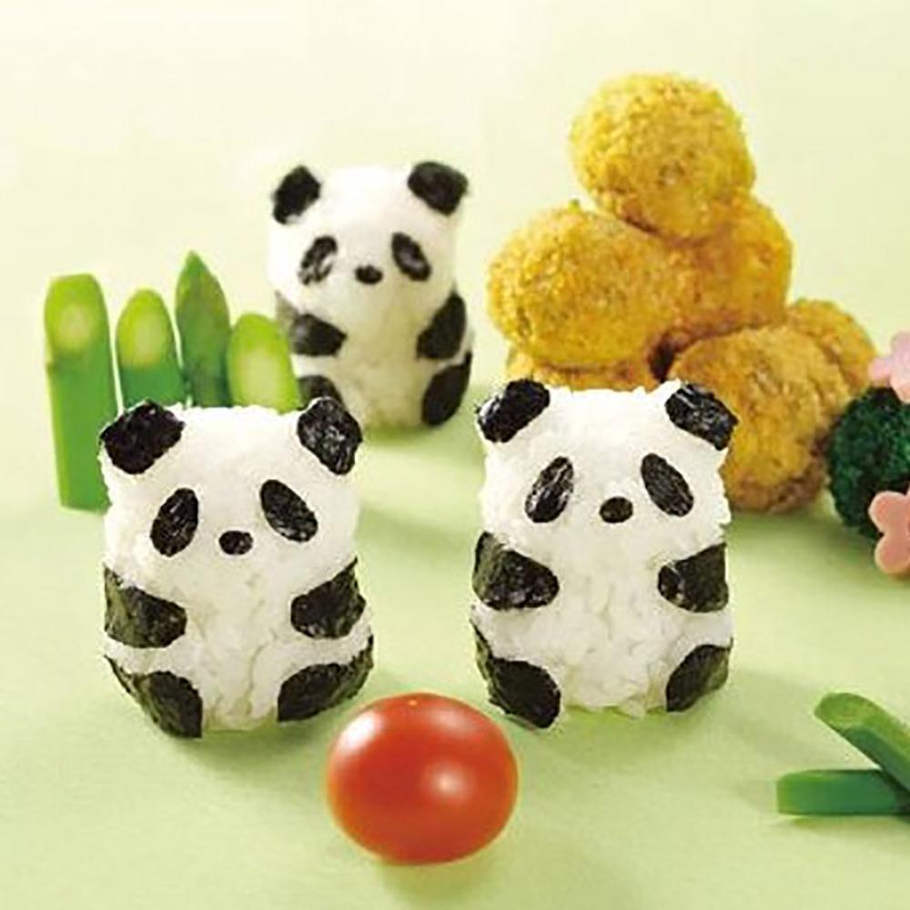 Arnest | 熊貓寶寶造型飯糰模