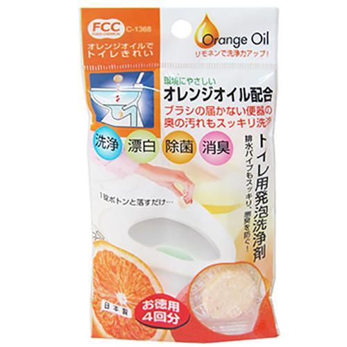 不動化學 | 橘子馬桶清潔劑