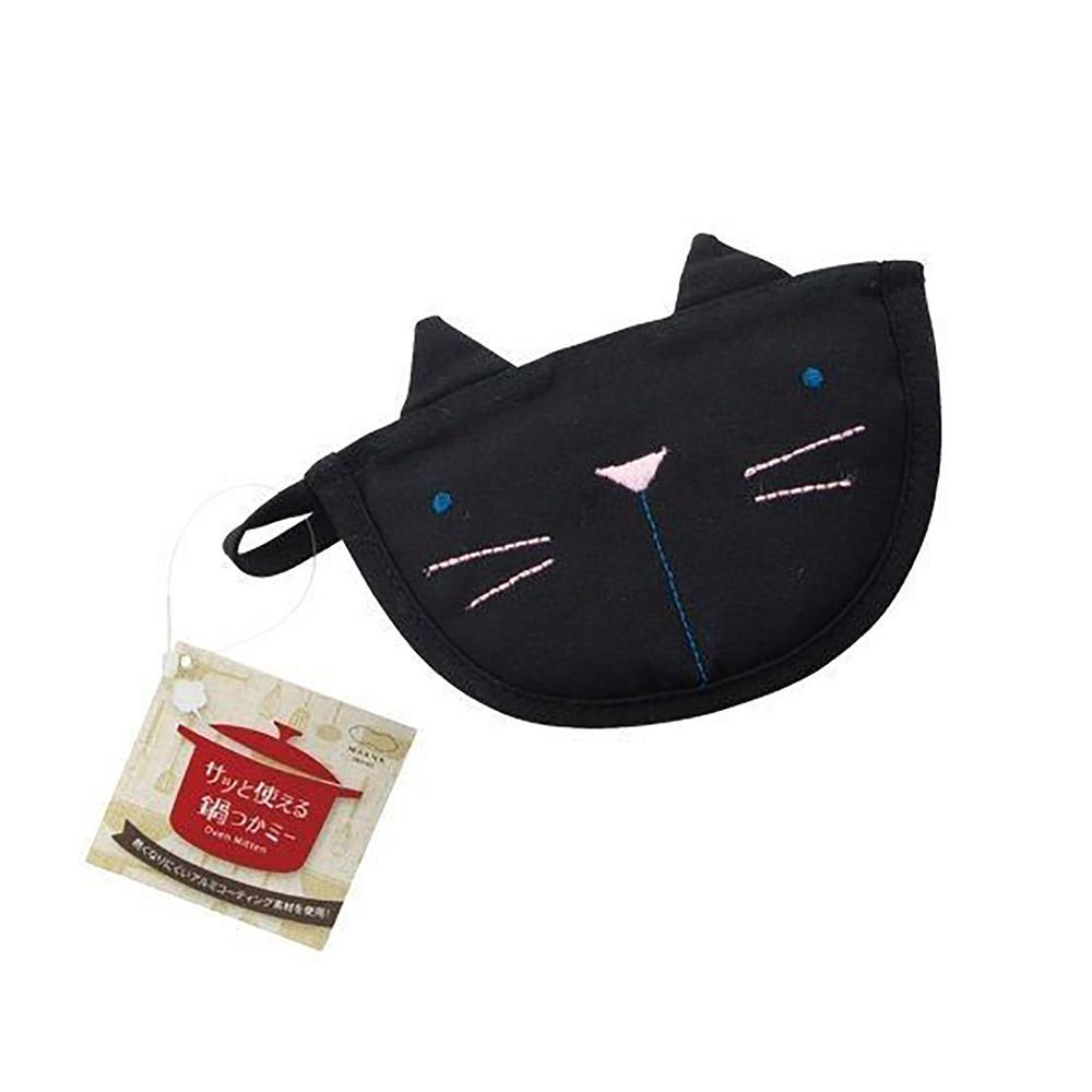 MARNA | 黑貓隔熱手套