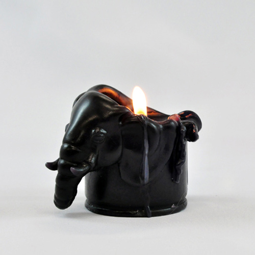 together|大象索羅香氛蠟燭(黑色/黑醋栗香)