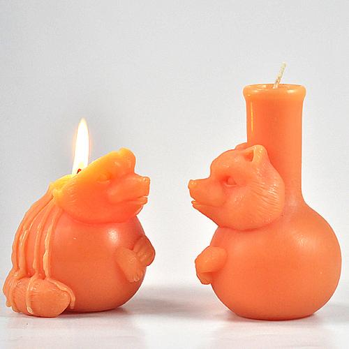 together|煉金術師小狸香氛蠟燭(橘色/綜合果香)