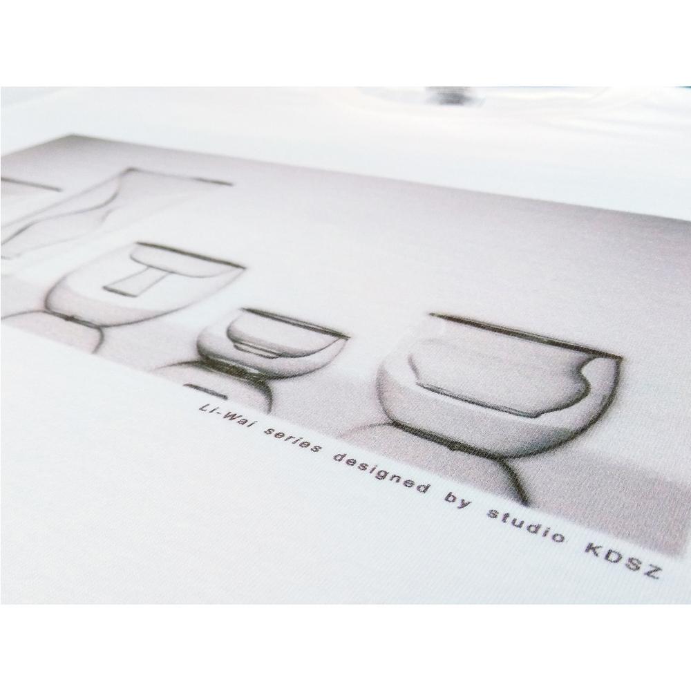 studio KDSZ|[ 裏-外系列 ] 夏日短袖中性T-Shirt (LWTS_02)