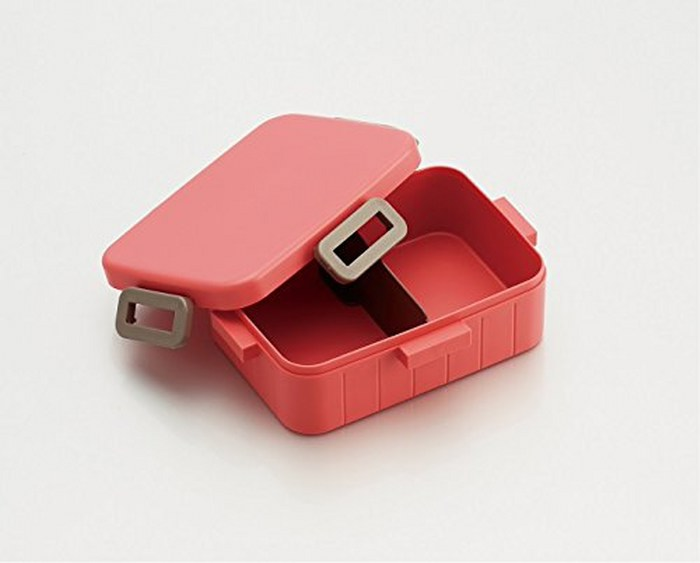 Skater|無印風便當盒 保鮮餐盒 650ML-粉紅