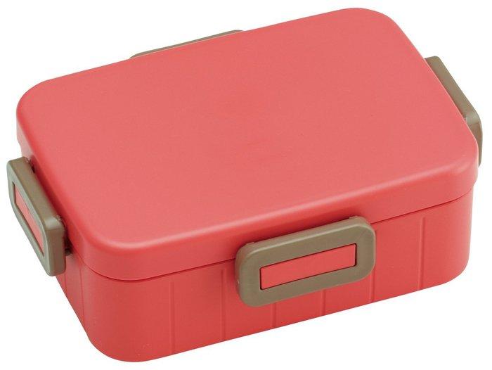 (複製)Skater|無印風便當盒 保鮮餐盒筷子組 650ML消光黑