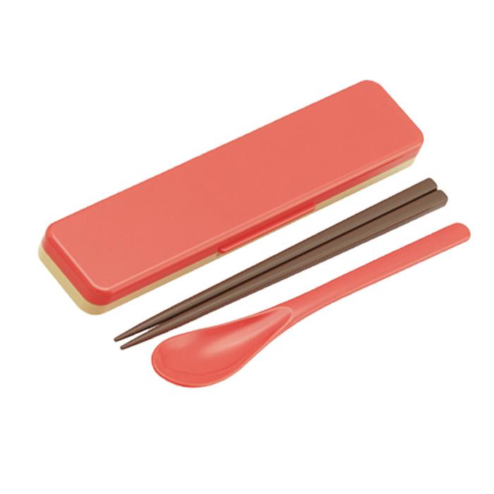 (複製)Skater|無印風便當盒 保鮮餐盒筷子組 650ML粉色