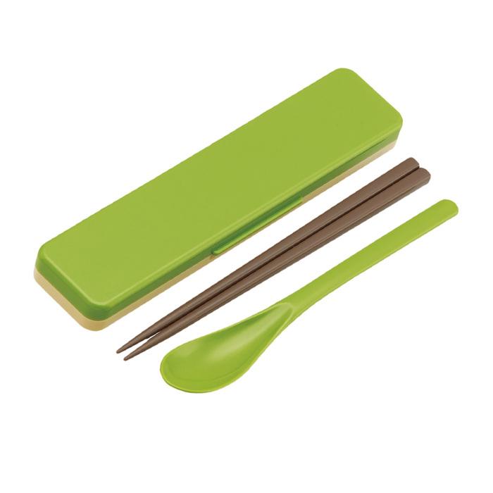 (複製)Skater|無印風筷子湯勺組 環保餐具18CM粉色