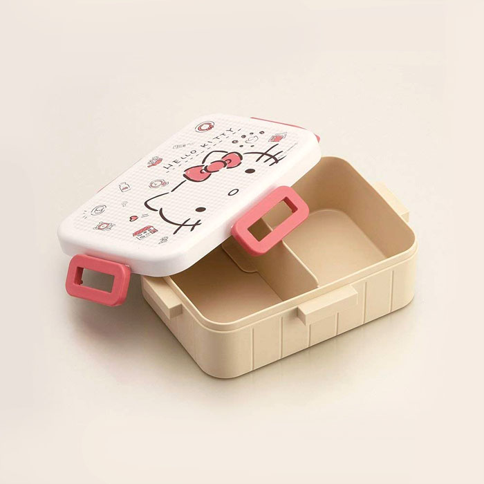 Skater|無印風便當盒 保鮮餐盒 650ML-元氣