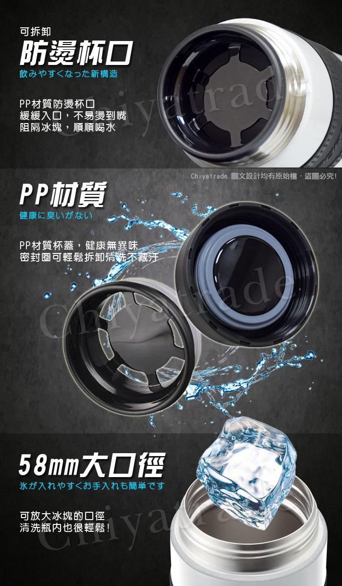 (複製)日本孔雀Peacock 休閒隨身不鏽鋼保溫杯500ML-原鋼色