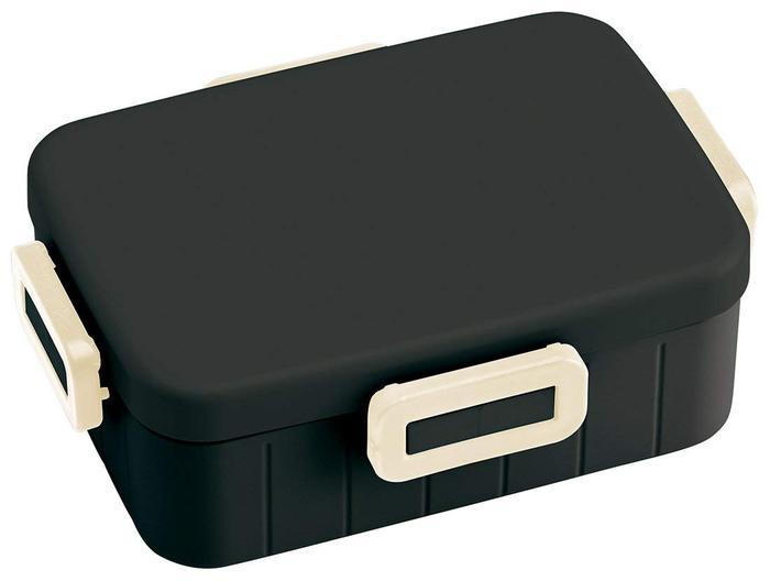 Skater|無印風便當盒 保鮮餐盒筷子組 900ML消光黑