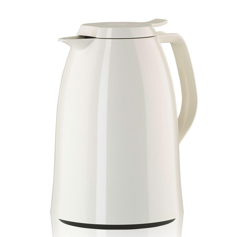 德國EMSA|頂級真空保溫壺 玻璃內膽 巧手壺MAMBO 1.5L 曼波白