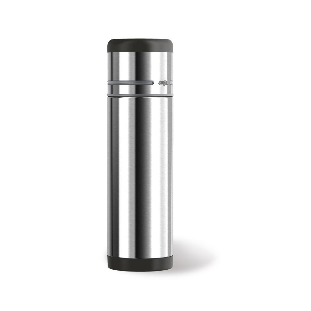 德國EMSA|隨行保溫杯MOBILITY 500ml-銀灰