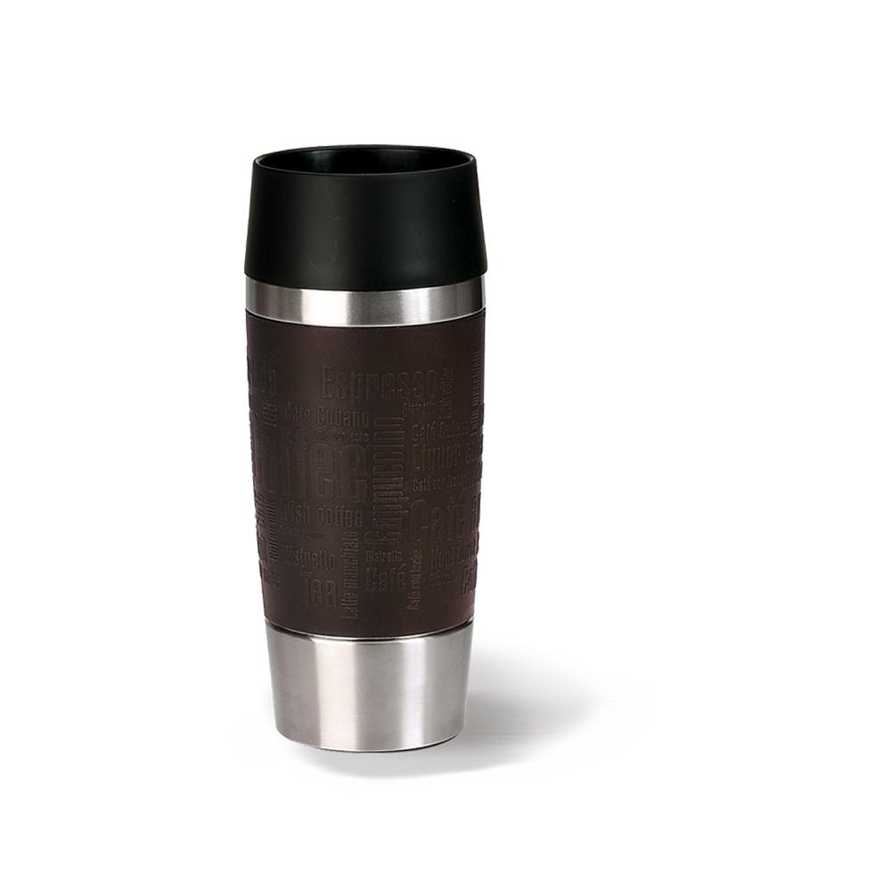 德國EMSA|隨行馬克保溫杯TRAVEL MUG360ml-焦糖棕