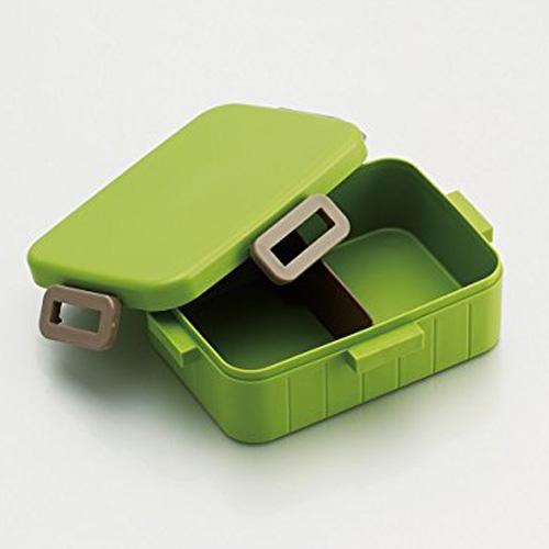 Skater 無印風便當盒 保鮮餐盒 650ML-原野綠
