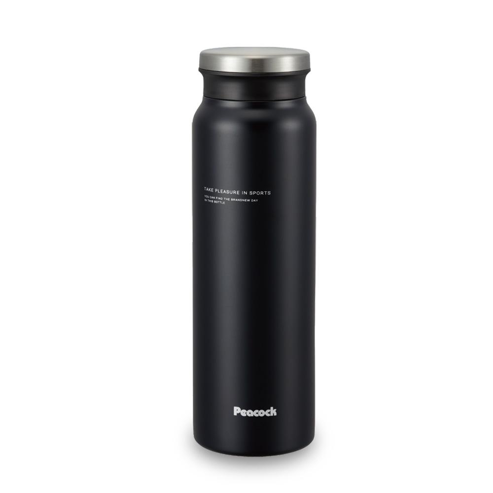 日本孔雀Peacock|商務休閒不鏽鋼保溫杯800ML-消光黑