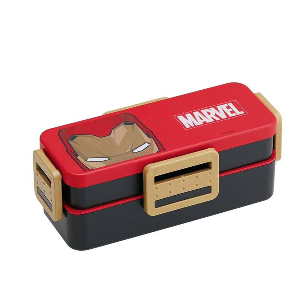 Skater|鋼鐵人雙層環保便當盒-900ML