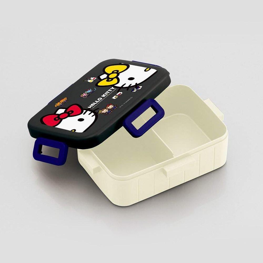 Skater|凱蒂貓便當盒 保鮮餐盒 650ML-黑色