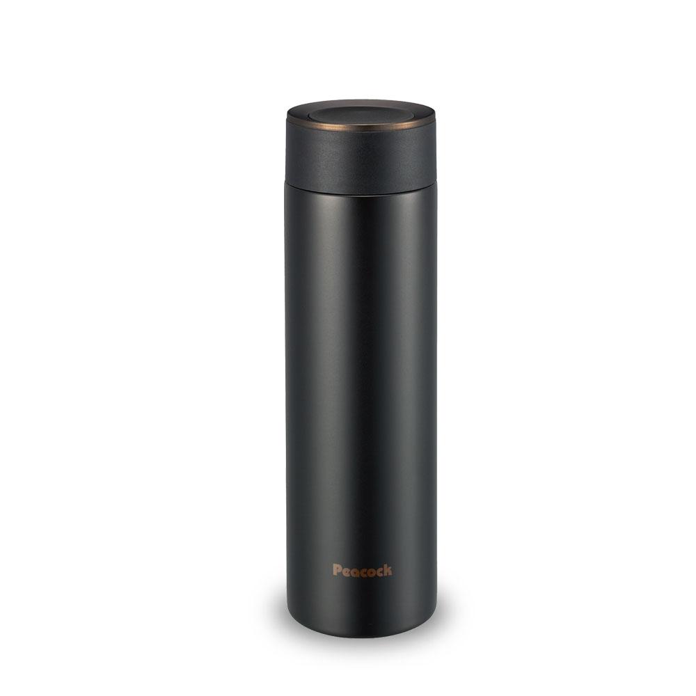 日本孔雀Peacock|商務職人不鏽鋼保溫杯500ML-黑咖啡