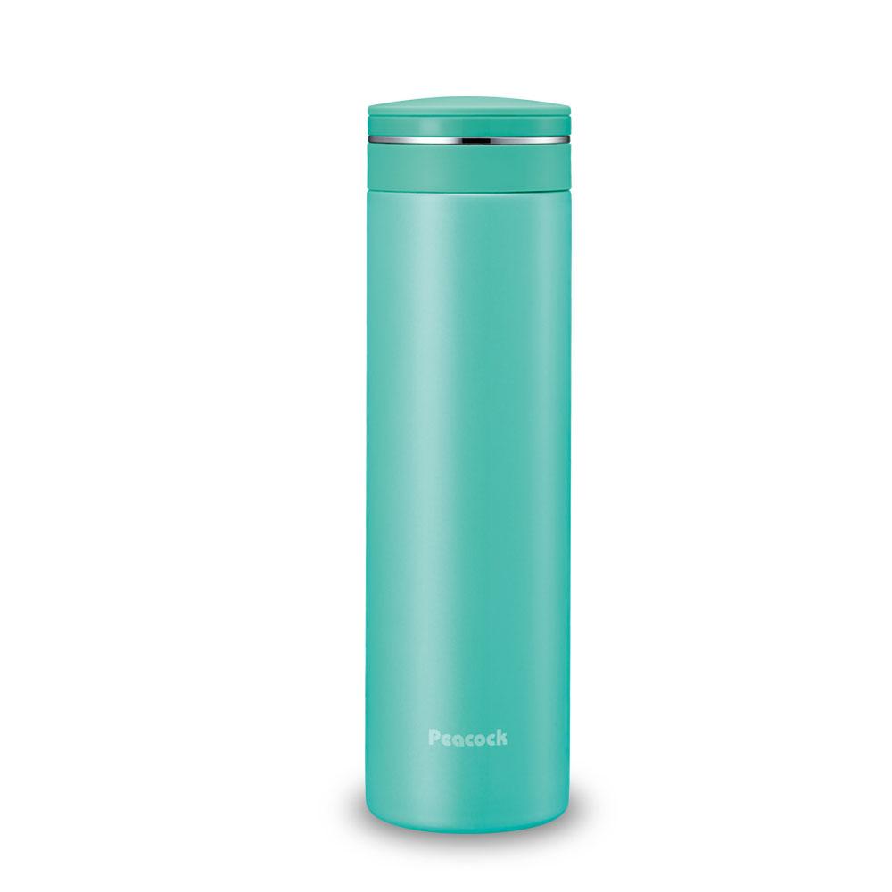 日本孔雀Peacock|輕享休閒不鏽鋼保溫杯500ML-淺草綠