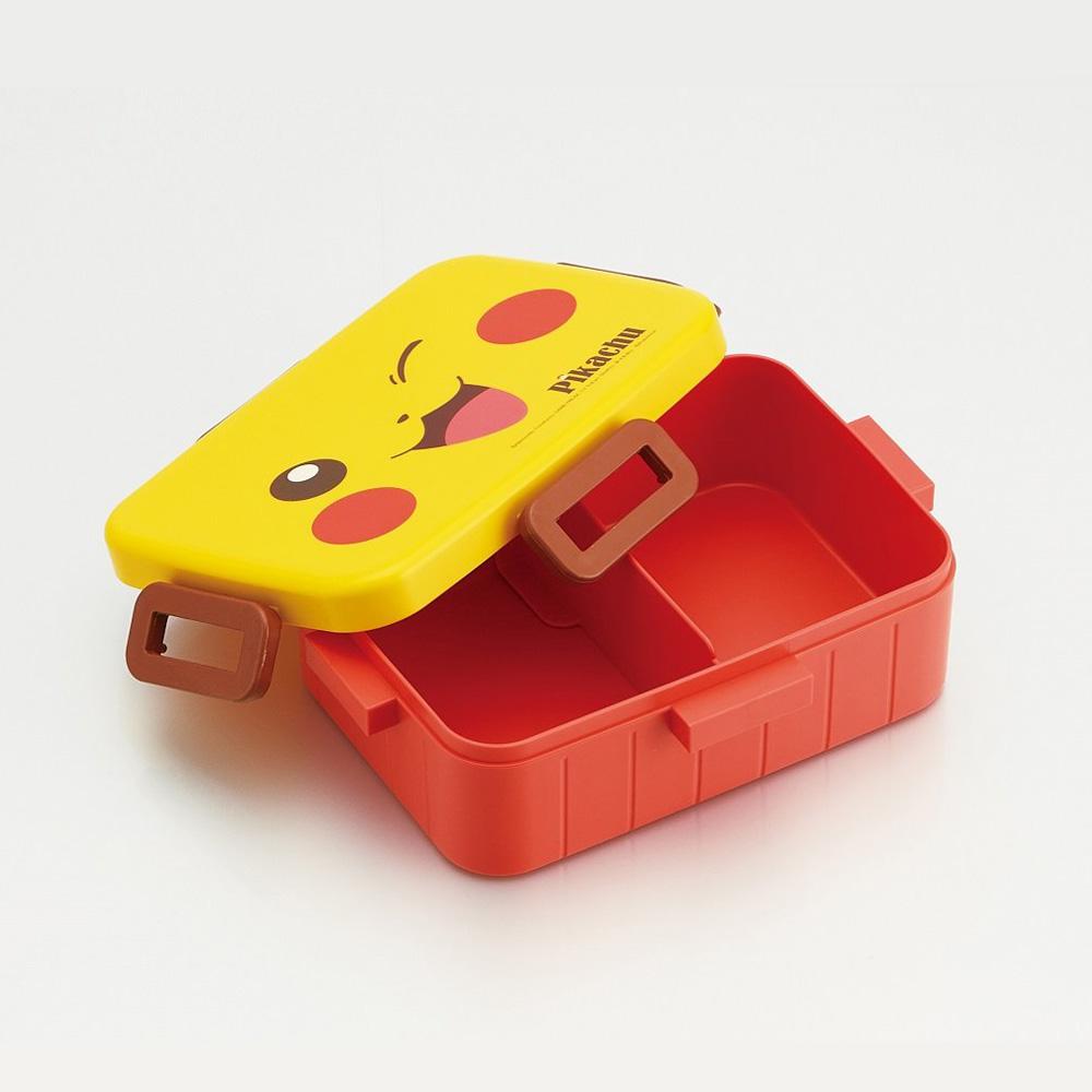 Skater|寶可夢便當盒 保鮮餐盒 650ML-大臉皮卡丘