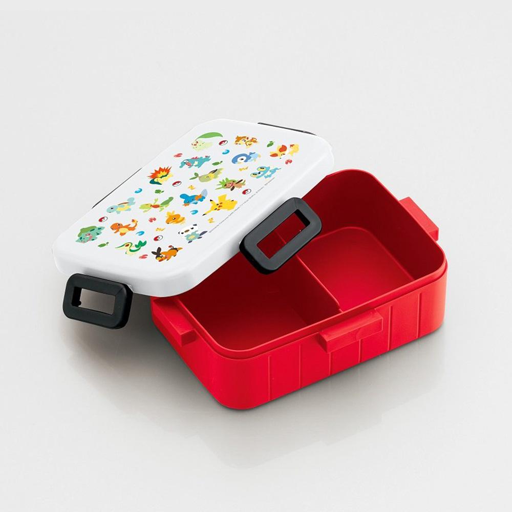 Skater|寶可夢便當盒 保鮮餐盒 650ML-御三家大集合
