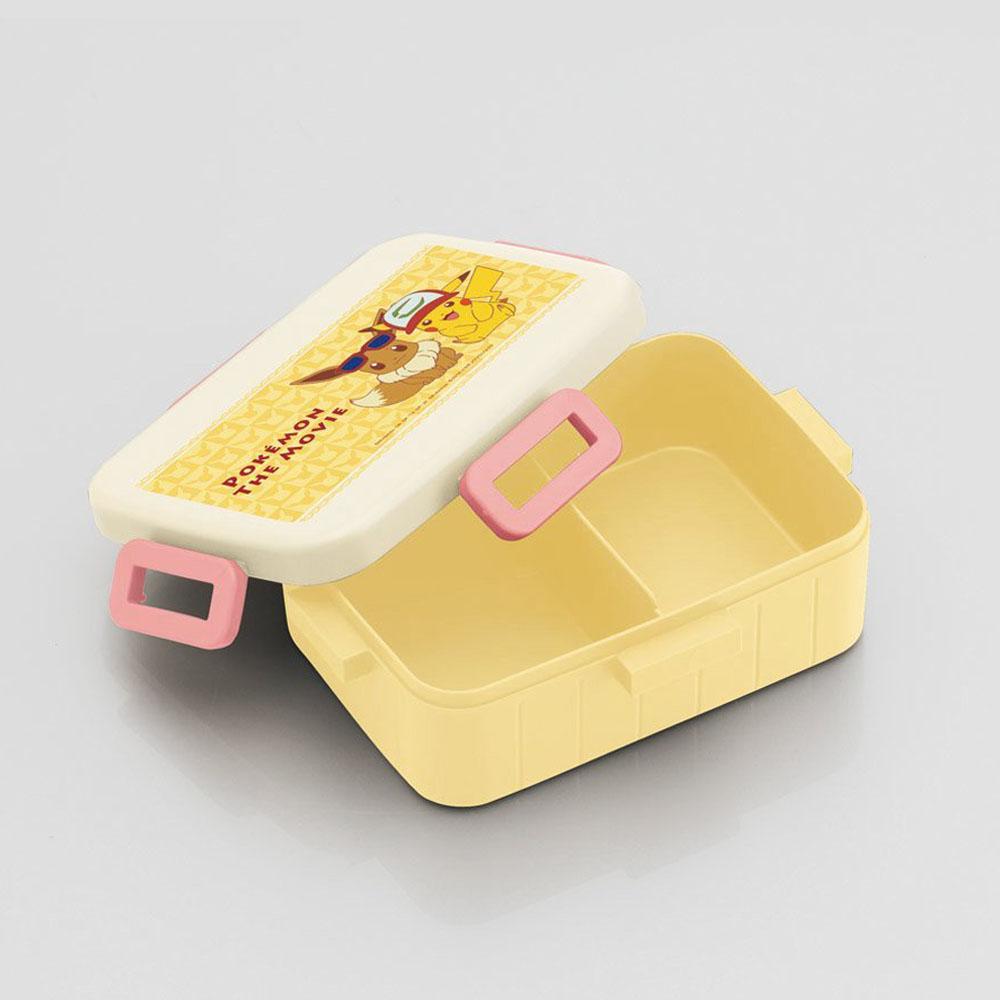 Skater|寶可夢便當盒 保鮮餐盒 650ML-皮卡丘&伊布 好朋友