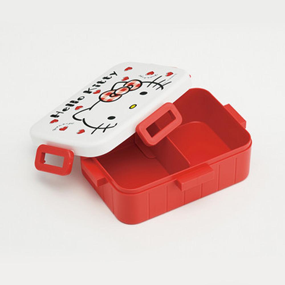 Skater|凱蒂貓便當盒 保鮮餐盒 650ML-愛心點點
