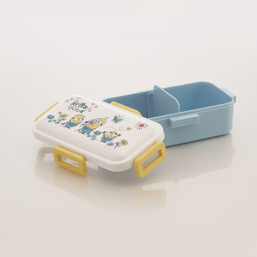 Skater|小小兵 便當盒 保鮮餐盒 530ML-小花園