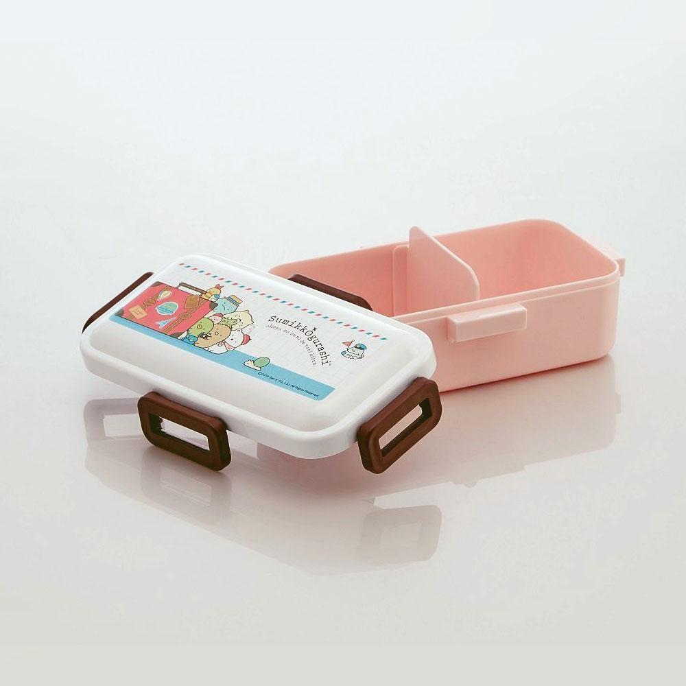 Skater|角落小夥伴 便當盒 保鮮餐盒 530ML-環遊世界