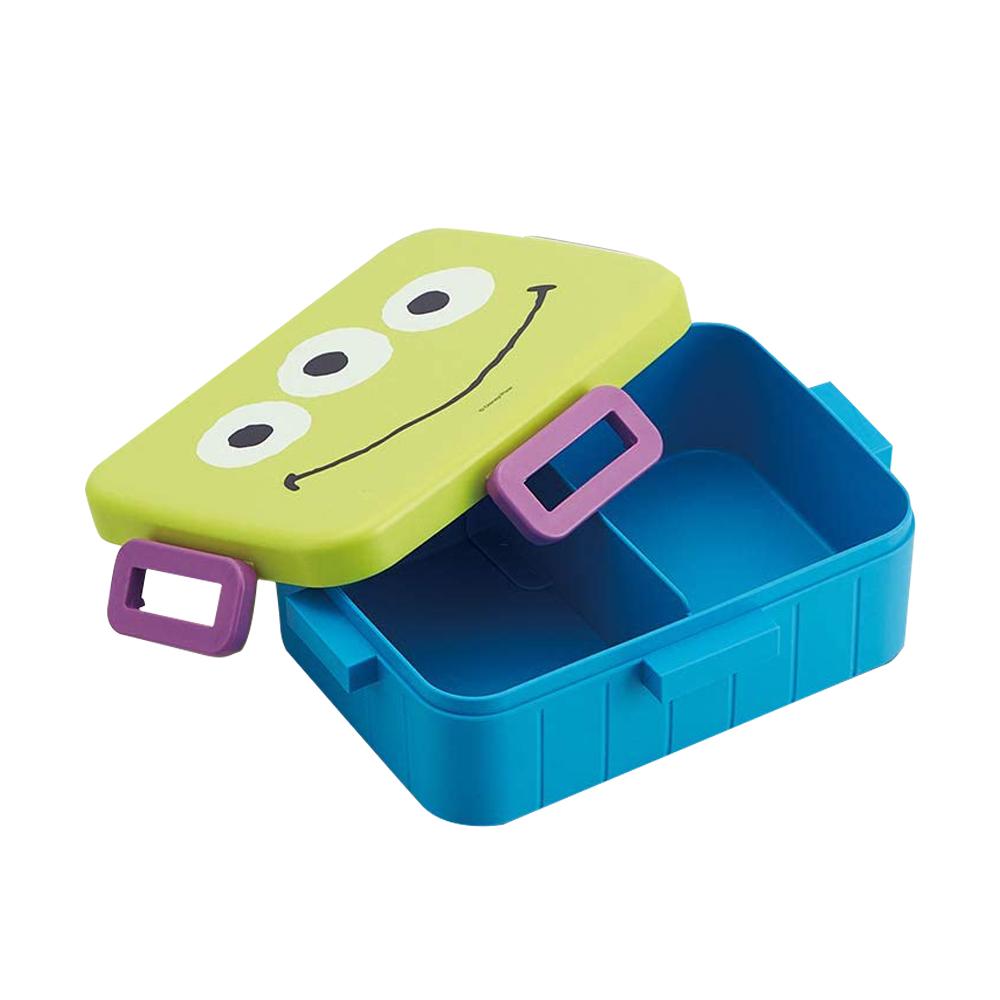 Skater|玩具總動員 便當盒 保鮮餐盒 抗菌加工 600ML-可愛三眼怪
