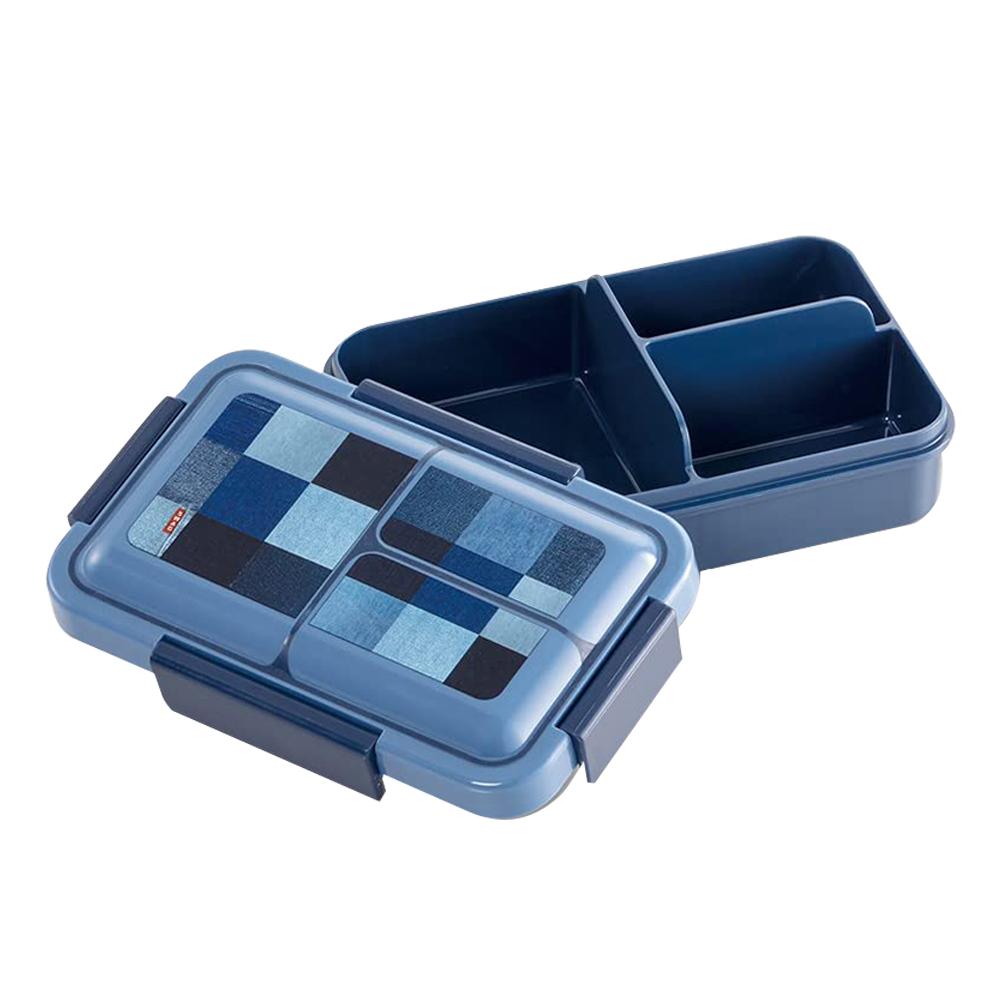 Skater|元素質感系列 便當盒 保鮮餐盒 抗菌加工 550ML-牛仔風