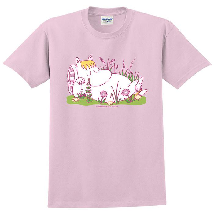 (複製)YOSHI850|Moomin嚕嚕米正版授權:T恤【羅曼史】成人短袖 T-shirt