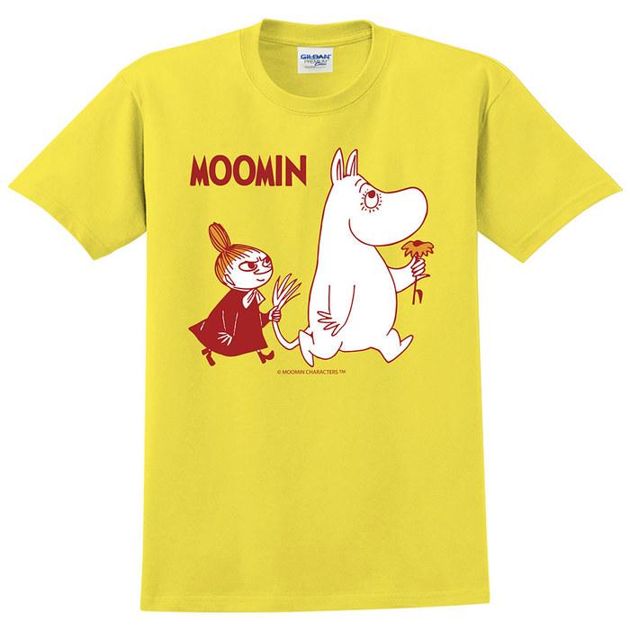 (複製)YOSHI850|Moomin嚕嚕米正版授權:T恤【雨中散步】成人短袖 T-shirt