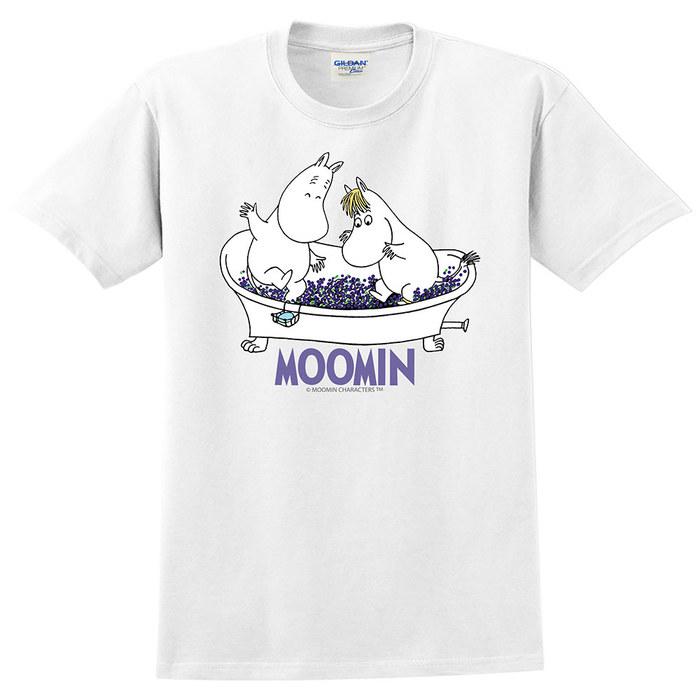 (複製)YOSHI850|Moomin嚕嚕米正版授權:T恤【愜意的可兒】成人短袖 T-shirt