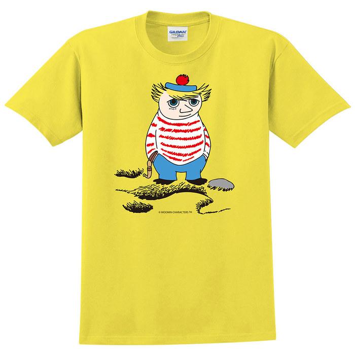(複製)YOSHI850|Moomin嚕嚕米正版授權:T恤【悠閒】成人短袖 T-shirt