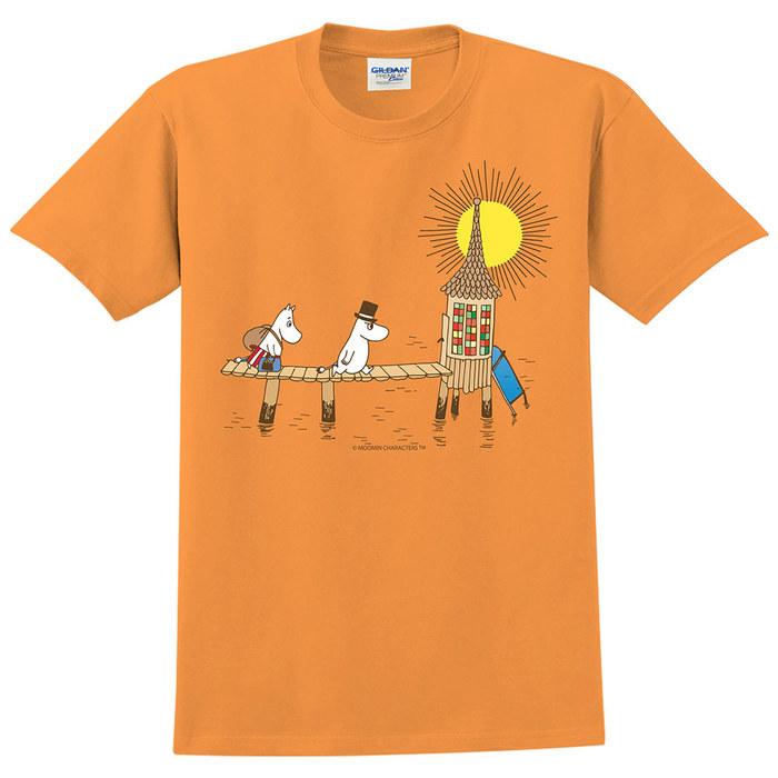 (複製)YOSHI850|Moomin嚕嚕米正版授權:T恤【果香浴缸】成人短袖 T-shirt