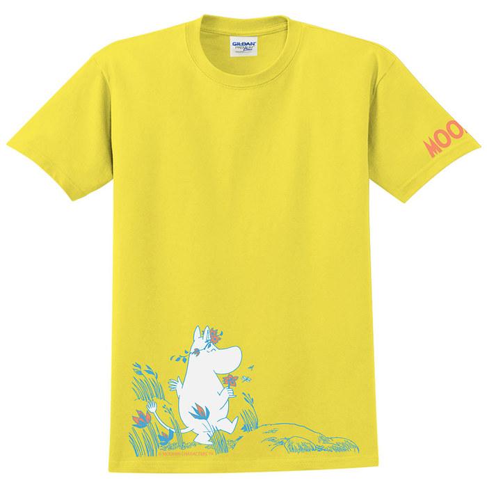(複製)YOSHI850|Moomin嚕嚕米正版授權:T恤【迪琪】成人短袖 T-shirt